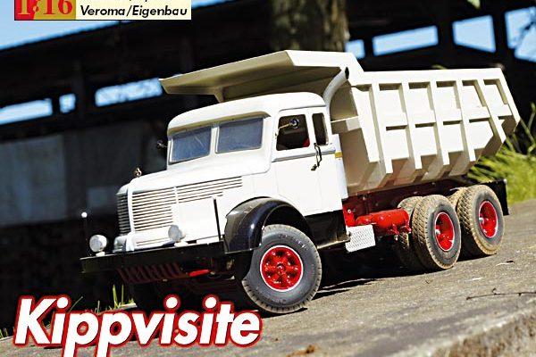 Kippvisite – Muldenkipper Krupp Titan 6 x 4