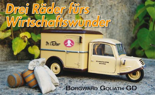 Borgward Goliath GD – Drei Räder fürs Wirtschaftswunder