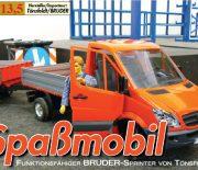 Spaßmobil – BRUDER-Sprinter von Tönsfeldt