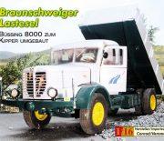 Braunschweiger Lastesel – Drei-Seiten-Kipper Büssing 8000
