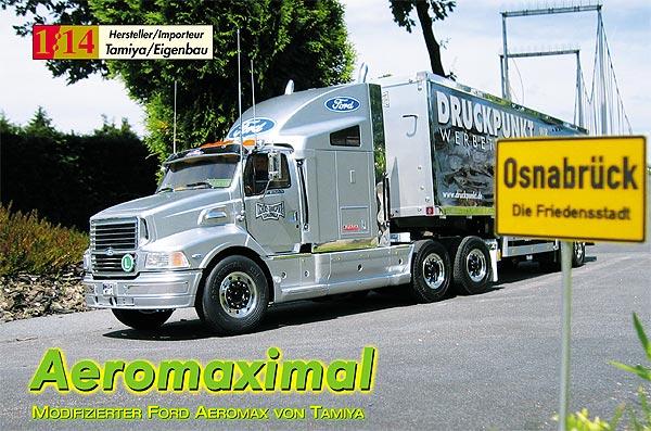 Aeromaximal – Ford Aeromax von Tamiya