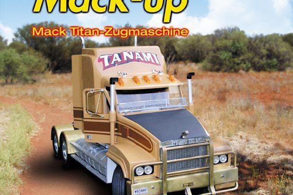 Mack-up – Mack Titan-Zugmaschine