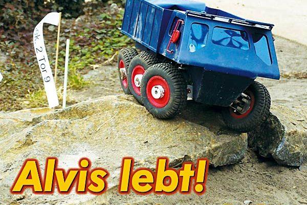 Alvis lebt – Transportfahrzeug Alvis Stalwart im Trial-Einsatz