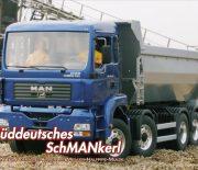 Süddeutsches SchMANkerl – MAN TGA Vierachs-Kipper von ScaleArt