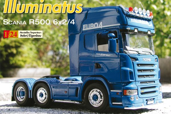 Illuminatus – Scania R500 6×2/4