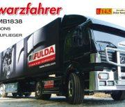 Schwarzfahrer – Tamiya MB1838 mit Carsons Fulda-Auflieger