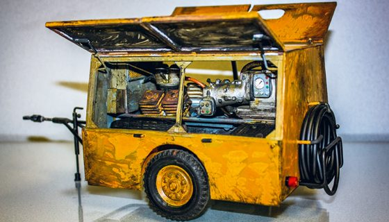 Etwas fürs Auge: Dieselkompressor DIKO 4/8