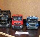 Kabinen, Komponenten und Standmodelle von Kleine Laster