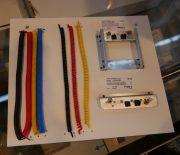 Anschluss-Konsole für Druckluft- und Elektro-Anschlüsse von Fechtner-Modellbau