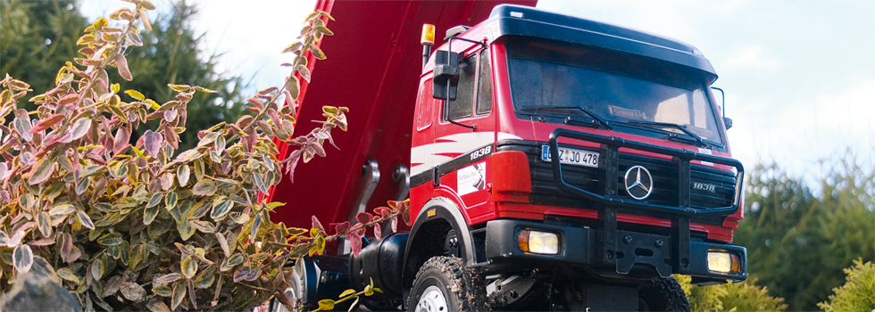 PAWA-Achsen für den Mercedes SK