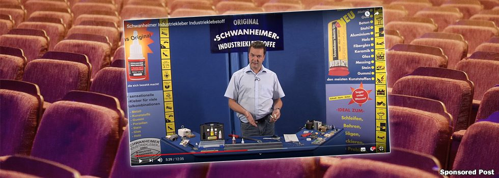 Video: Profiklebstoffe der Schwanheimer Industriekleber GmbH