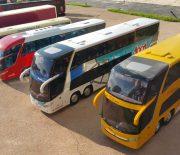 Busse sind eins der populärsten Fortbewegungsmittel in dem riesigen Land in Südamerika. Kein Wunder also, dass sie auch im kleinen Maßstab beliebte Modelle sind